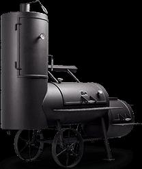 Смокер-гриль барбекю коптильня KG-53 Magdeburg Pro