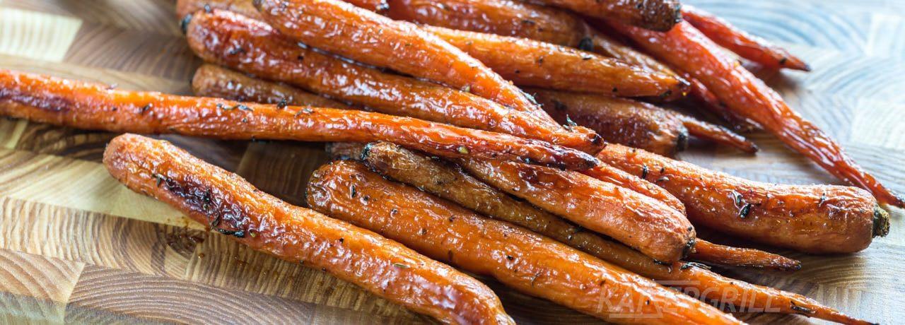 Морковь на гриле