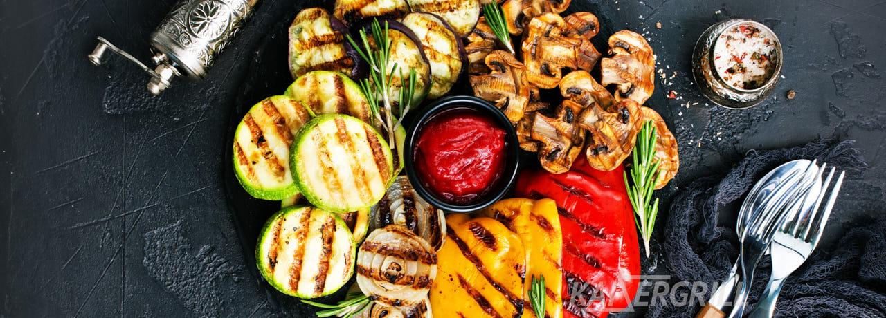 Овощи на гриле по-деревенски