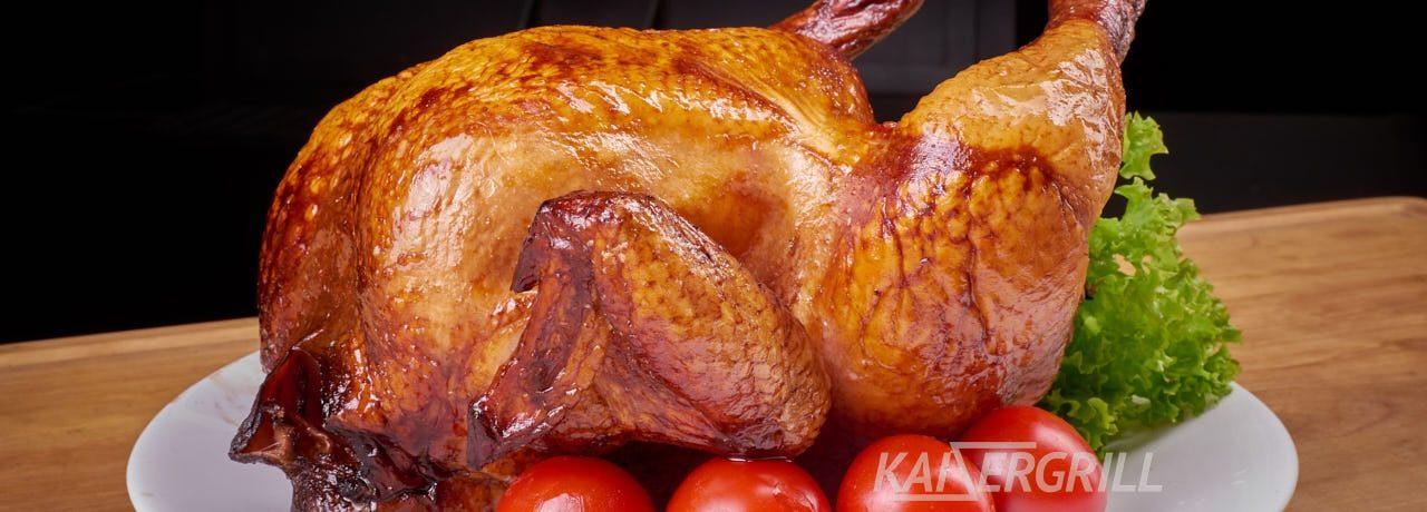 Курица копченая классическая