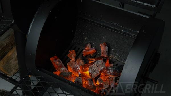 розжиг смокера метод 3