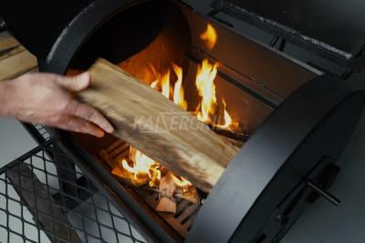 розжиг смокера метод 1